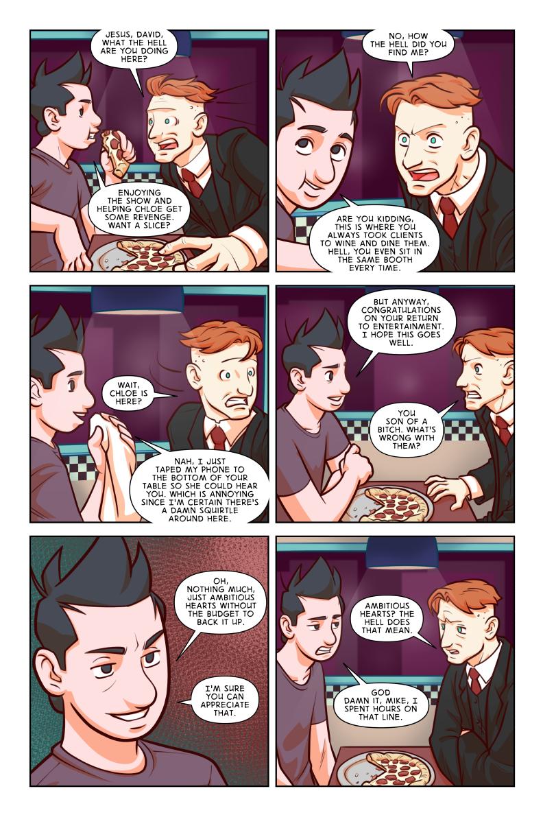 10/04 – Dinner Part Four